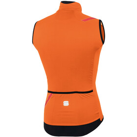 Sportful Fiandre Light No Rain Gilet Uomo, orange sdr